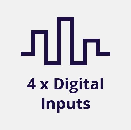 4 Digital Inputs
