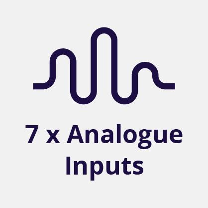 7 Analog Inputs