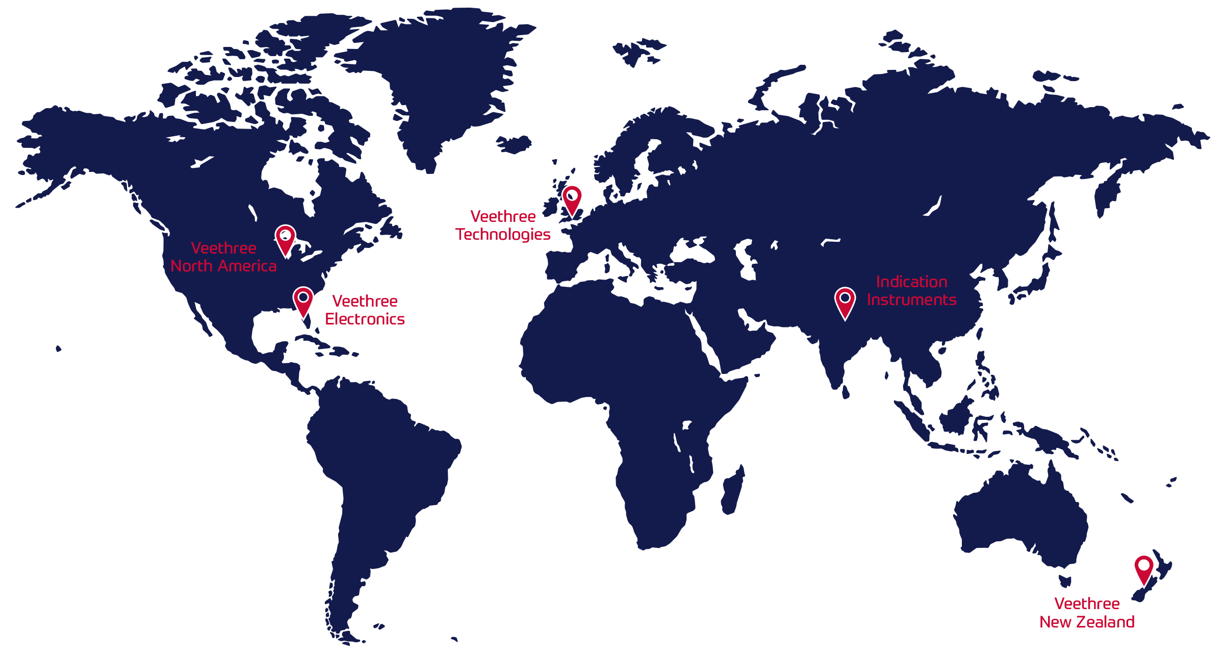 Veethree Group Locations