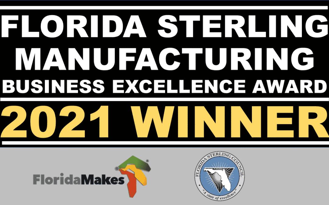 Veethree Electronics Wins Prestigious Florida Sterling Manufacturing Business Award